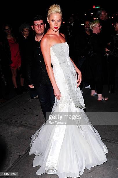 Actress Kate Nauta attends The Burning Plain screening at Sunshine Cinema on September 16 2009 in New York City