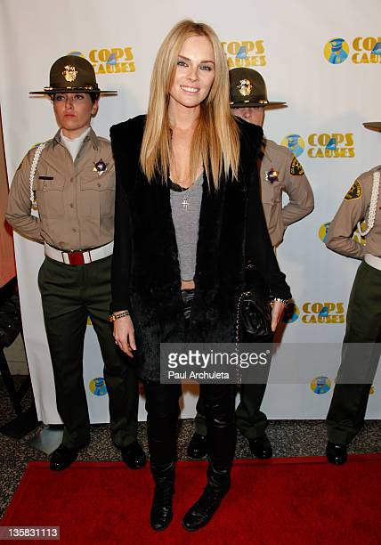 Actress Kate Nauta attends the Cops 4 Causes annual Fallen Heroes benefit at Avalon on December 14 2011 in Hollywood California