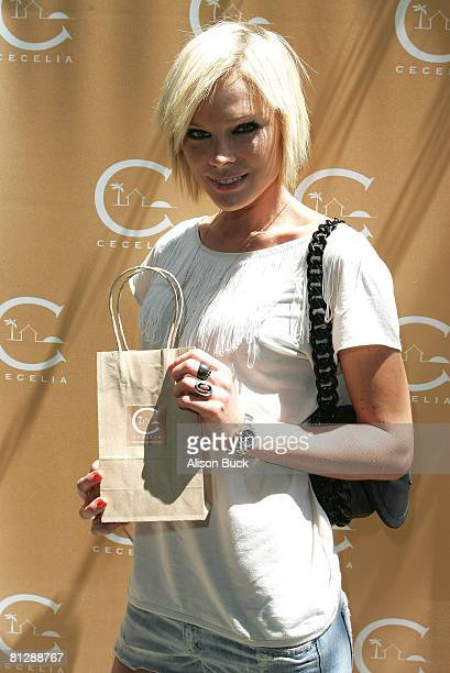 Actress Kate Nauta attends the Kari Feinstein MTV Movie Awards Style Lounge Day 1 at a private residence on May 29 2008 in Los Angeles California