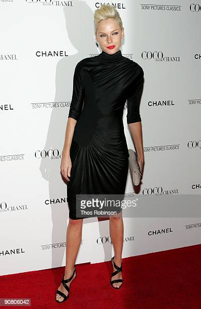 Actress Kate Nauta attends the New York Premiere of Coco Before Chanel presented by Chanel at the Paris Theatre on September 15 2009 in New York City