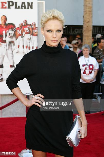 Actress Kate Nauta attends the premiere of Walt Disney's The Game Plan at the El Capitan Theatre September 23 2007 in Los Angeles California