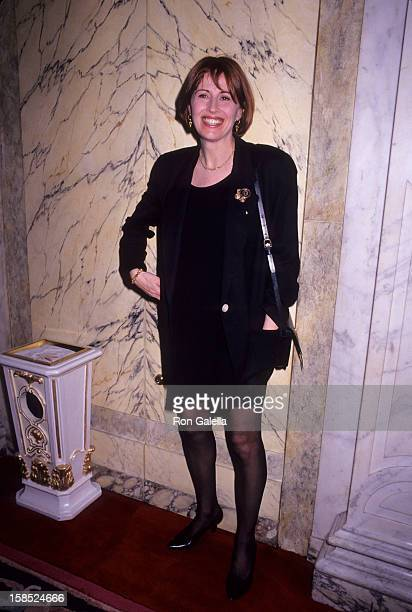 Actress Kate Nelligan attends 58th Annual Drama League Awards on May 6 1992 at the Plaza Hotel in New York City