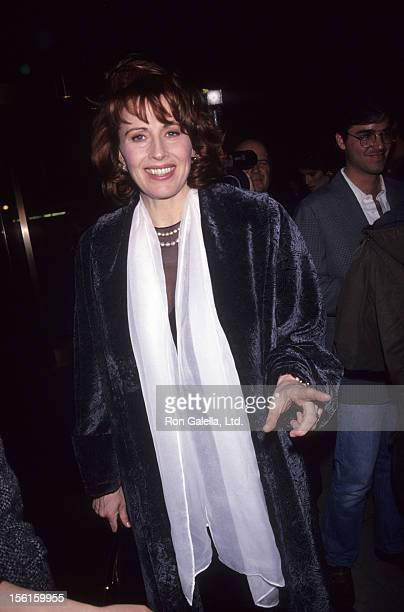 Actress Kate Nelligan attends 63rd Annual National Board of Review Awards Dinner on February 24 1992 at the Equitable Center in New York City
