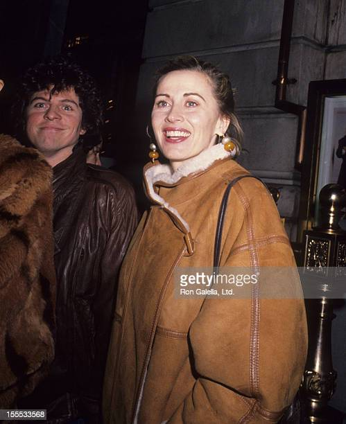 Actress Kate Nelligan attends the premiere of January Man on January 9 1989 at Cinema III in New York City