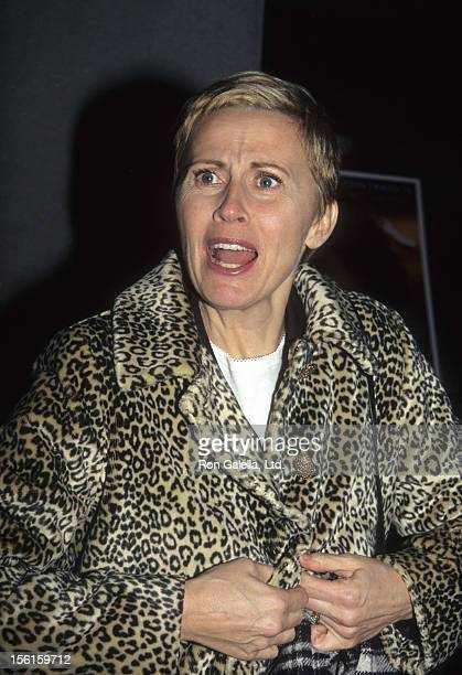 Actress Kate Nelligan attends the premiere of 'Michael' on December 15 1996 at the Museum of Modern Art in New York City