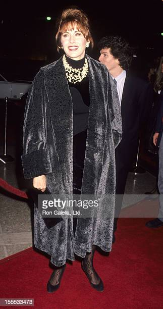 Actress Kate Nelligan attends the premiere of Prince of Tides on December 11 1991 at the Cineplex Odeon Cinema in Century City California
