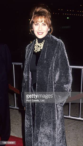 Actress Kate Nelligan attends the premiere of 'Prince of Tides' on December 11 1991 at the Cineplex Odeon Cinema in Century City California