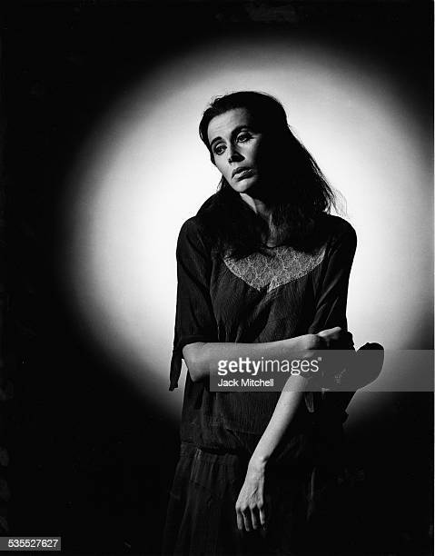 Actress Kate Nelligan in Moon for the Misbegotten on Broadway in 1984