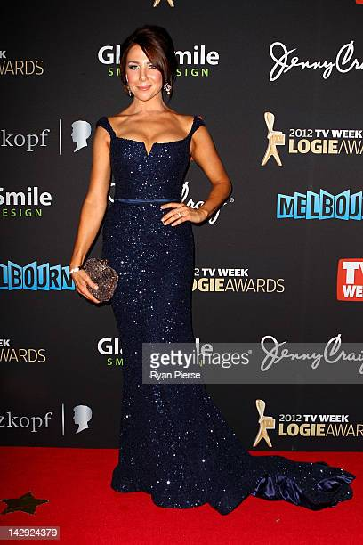 Actress Kate Richie arrives at the 2012 Logie Awards at the Crown Palladium on April 15 2012 in Melbourne Australia