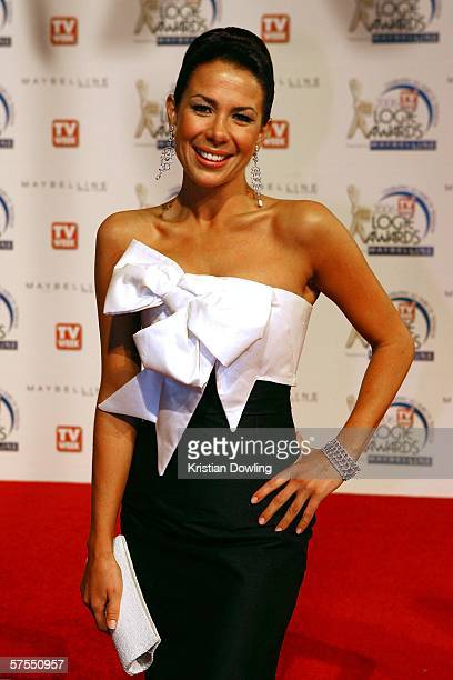 Actress Kate Ritchie arrives at the 48th Annual TV Week Logie Awards at the Crown Entertainment Complex on May 7 2006 in Melbourne Australia