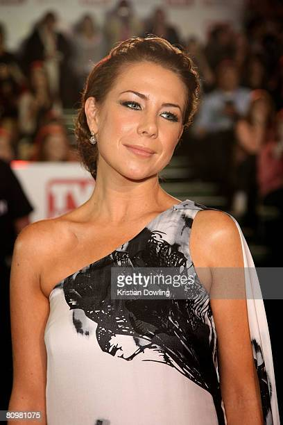 Actress Kate Ritchie arrives on the red carpet at the 50th Annual TV Week Logie Awards at the Crown Towers Hotel and Casino on May 4 2008 in...