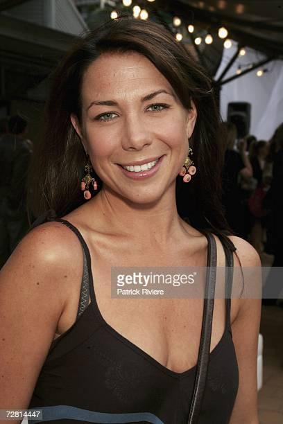 Actress Kate Ritchie attends the Channel Seven Christmas drinks party in Pyrmont on December 13 2006 in Sydney Australia