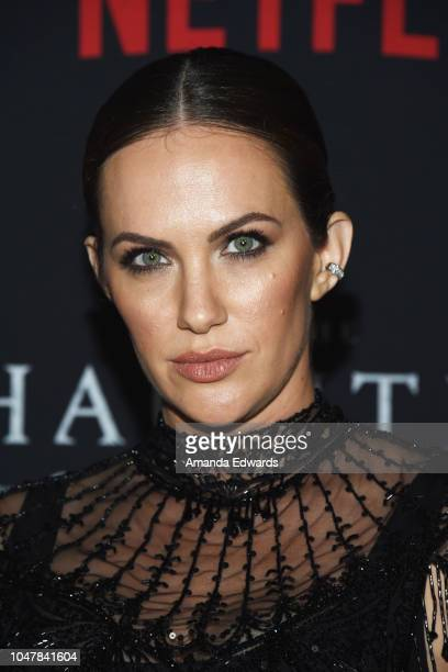 Actress Kate Siegel arrives at Netflix's The Haunting Of Hill House Season 1 Premiere at ArcLight Hollywood on October 8 2018 in Hollywood California