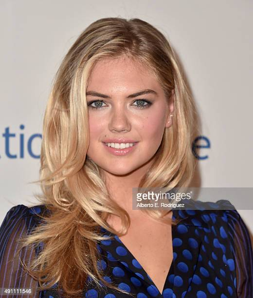 Actress Kate Upton attends Operation Smile's 2015 Smile Gala at the Beverly Wilshire Four Seasons Hotel on October 2 2015 in Beverly Hills California