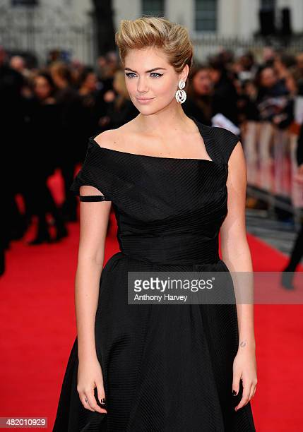 Actress Kate Upton attends The Other Woman UK premiere at the Curzon Mayfair on April 2 2014 in London England