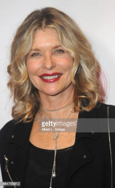Actress Kate Vernon arrives for the TJ Scott Book Launch For 'In The Tub Volume 2' held at Cinematic Pictures Group Gallery on December 2 2017 in...