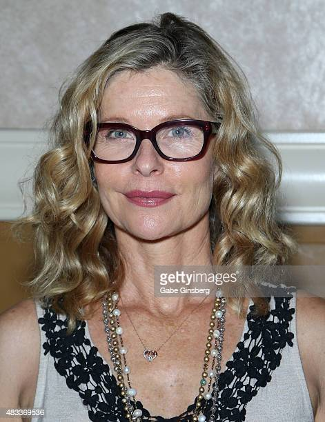 Actress Kate Vernon attends the 14th annual official Star Trek convention at the Rio Hotel Casino on August 7 2015 in Las Vegas Nevada