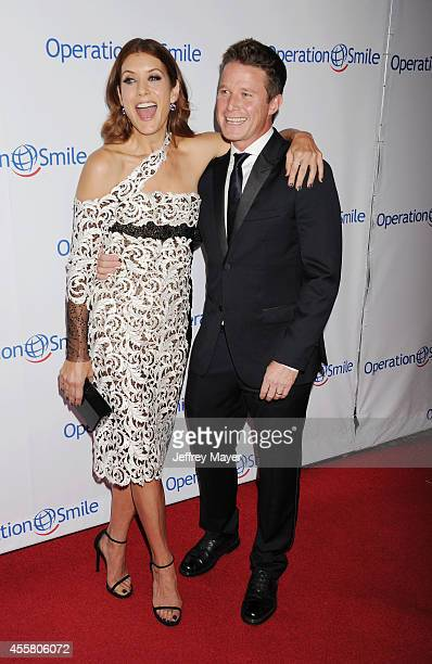 Actress Kate Walsh and TV personality Billy Bush attend the 2014 Operation Smile Gala at the Beverly Wilshire Four Seasons Hotel on September 19,...