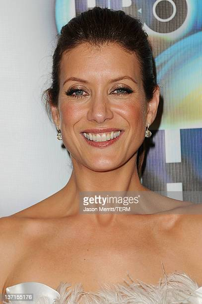 Actress Kate Walsh arrives at HBO's Post 2012 Golden Globe Awards Party at Circa 55 Restaurant on January 15 2012 in Beverly Hills California