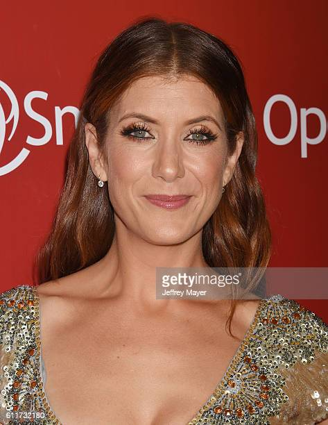 Actress Kate Walsh arrives at Operation Smile's Annual Smile Gala at the Beverly Wilshire Four Seasons Hotel on September 30 2016 in Beverly Hills...