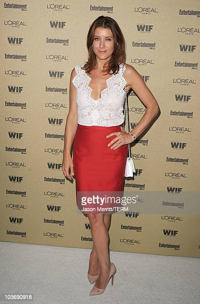 Actress Kate Walsh arrives at the 2010 Entertainment Weekly and Women In Film PreEmmy party sponsored by L'Oreal Paris at Restaurant at The Sunset...