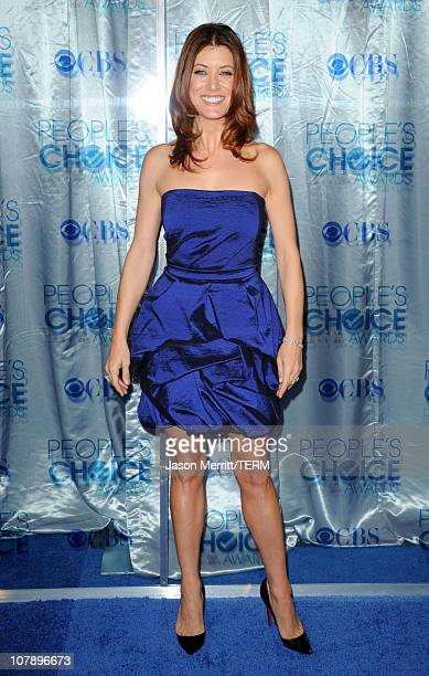 Actress Kate Walsh arrives at the 2011 People's Choice Awards at Nokia Theatre LA Live on January 5 2011 in Los Angeles California