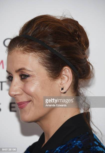 Actress Kate Walsh arrives at the 6th Annual Women Making History Awards at The Beverly Hilton Hotel on September 16 2017 in Beverly Hills California