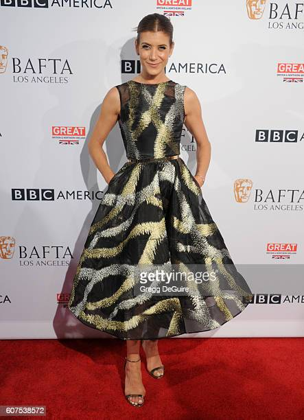Actress Kate Walsh arrives at the BBC America BAFTA Los Angeles TV Tea Party at The London Hotel on September 17 2016 in West Hollywood California