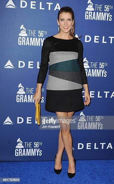 Actress Kate Walsh arrives at the Delta Air Lines 2014 GRAMMY Weekend Private Reception And Performance With Lorde at Soho House on January 23 2014...