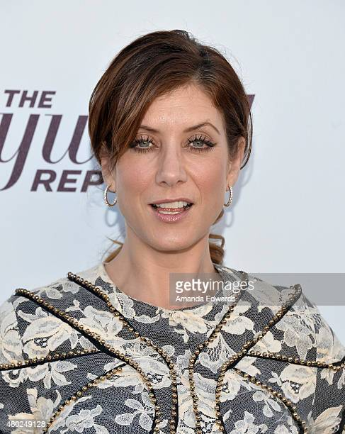 Actress Kate Walsh arrives at The Hollywood Reporter's Women In Entertainment Breakfast at Milk Studios on December 10 2014 in Los Angeles California