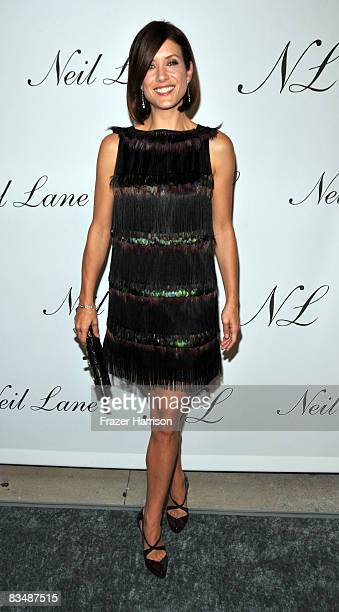 Actress Kate Walsh arrives at the unveiling of designer Jeweler Neil Lane's flagship store at Melrose Place on October 29 2008 in Los Angeles...