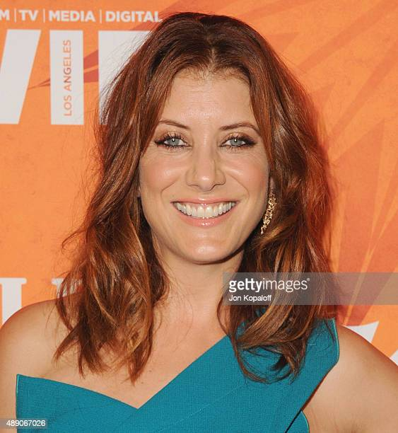 Actress Kate Walsh arrives at the Variety And Women In Film Annual PreEmmy Celebration at Gracias Madre on September 18 2015 in West Hollywood...