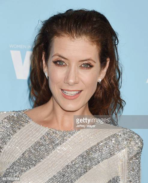 Actress Kate Walsh arrives at the Variety And Women In Film's 2017 PreEmmy Celebration at Gracias Madre on September 15 2017 in West Hollywood...