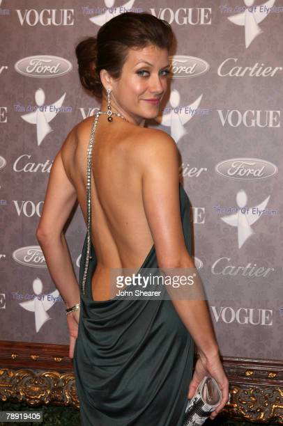 Actress Kate Walsh arrives to The Art of Elysium 10th Anniversary Gala at Vibiana on January 12 2008 in Los Angeles California