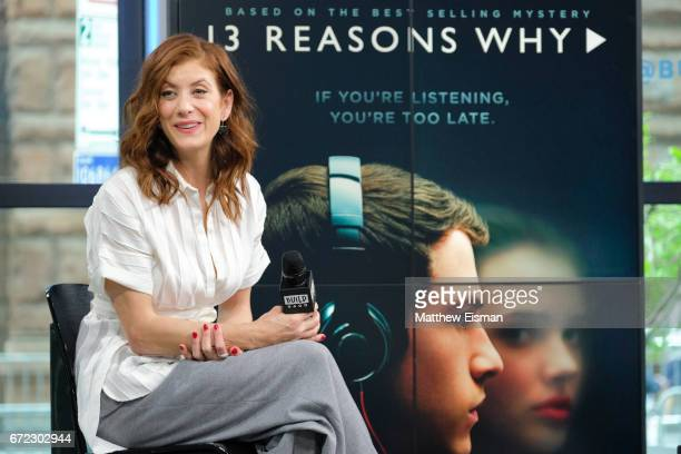 Actress Kate Walsh attends Build presents Kate Walsh discussing the show 13 Reasons Why at Build Studio on April 24 2017 in New York City