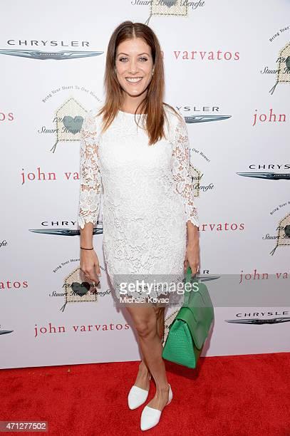 Actress Kate Walsh attends Chrysler John Varvatos 12th Annual Stuart House Benefit at John Varvatos on April 26 2015 in Los Angeles California