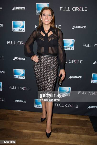 Actress Kate Walsh attends DIRECTV's new series 'Full Circle' cast and crew dinner at Bagatelle on October 2 2013 in Los Angeles California
