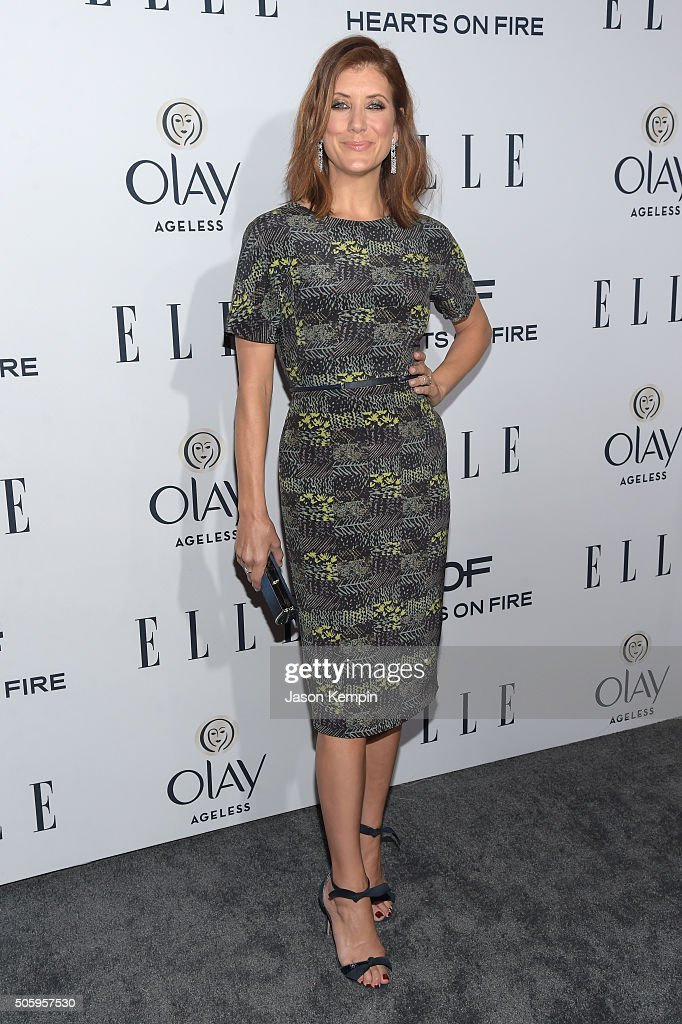 Actress Kate Walsh attends ELLE's 6th Annual Women In Television Dinner at Sunset Tower Hotel on January 20, 2016 in West Hollywood, California.