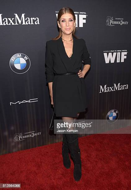 Actress Kate Walsh attends Ninth Annual Women In Film PreOscar Cocktail Party presented by Max Mara BMW MAC Cosmetics and PerrierJouet at Hyde Sunset...