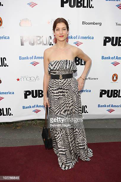 Actress Kate Walsh attends the 2010 Public Theater Gala at the Delacorte Theater on June 21 2010 in New York City