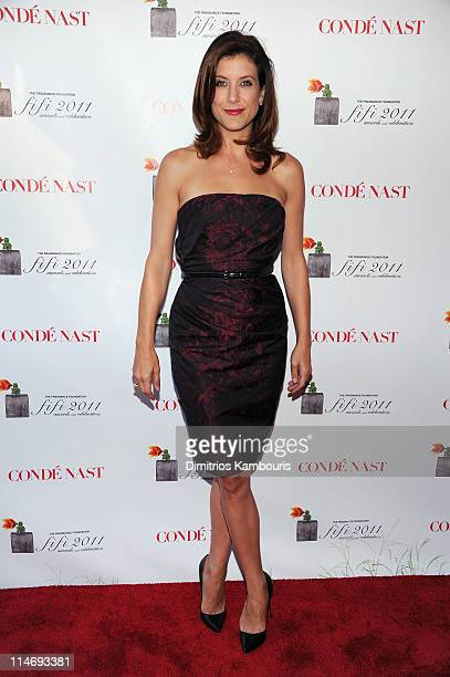 Actress Kate Walsh attends the 2011 FiFi Awards at The Tent at Lincoln Center on May 25 2011 in New York City