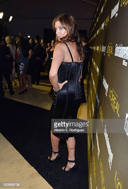Actress Kate Walsh attends The 2012 Entertainment Weekly PreEmmy Party Presented By L'Oreal Paris at Fig Olive Melrose Place on September 21 2012 in...