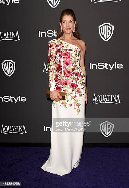 Actress Kate Walsh attends the 2015 InStyle And Warner Bros 72nd Annual Golden Globe Awards PostParty at The Beverly Hilton Hotel on January 11 2015...