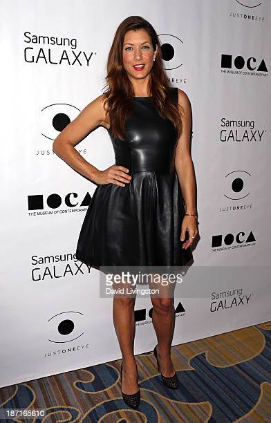 Actress Kate Walsh attends the 8th Annual MOCA Awards to Distinguished Women in the Arts Luncheon at the Beverly Wilshire Four Seasons Hotel on...