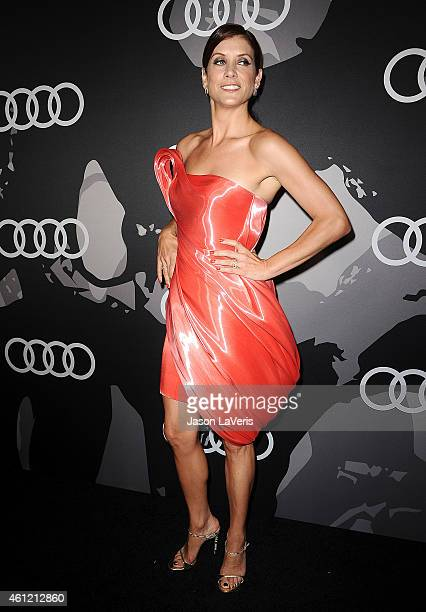 Actress Kate Walsh attends the Audi Golden Globe week celebration at Cecconi's Restaurant on January 8 2015 in Los Angeles California