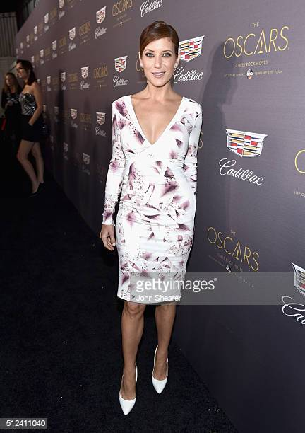 Actress Kate Walsh attends the Cadillac Oscar Week Celebration at Chateau Marmont on February 25 2016 in Los Angeles California