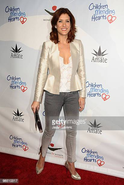 Actress Kate Walsh attends the Children Mending Hearts 3rd annual Peace Please gala at The Music Box at the Fonda Hollywood on April 16 2010 in Los...