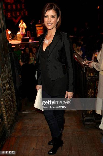 Actress Kate Walsh attends the Children Mending Hearts Gala held at the House Of Blues on February 18 2009 in Hollywood California