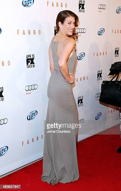 Actress Kate Walsh attends the FX Networks Upfront screening of Fargo at SVA Theater on April 9 2014 in New York City