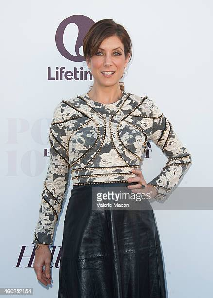 Actress Kate Walsh attends The Hollywood Reporter's 23rd Annual Women In Entertainment Breakfast at Milk Studios on December 10 2014 in Los Angeles...